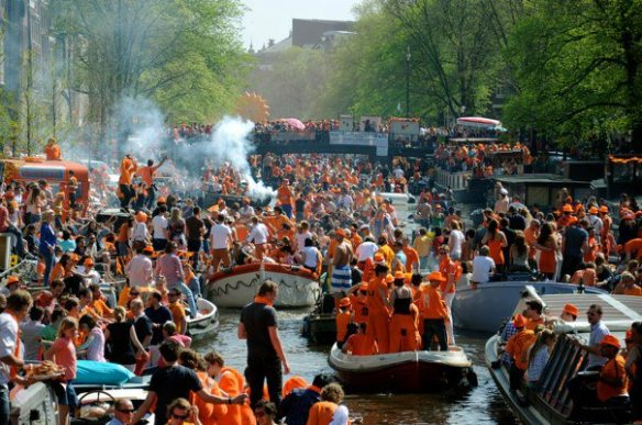Queen's Day, Amsterdam