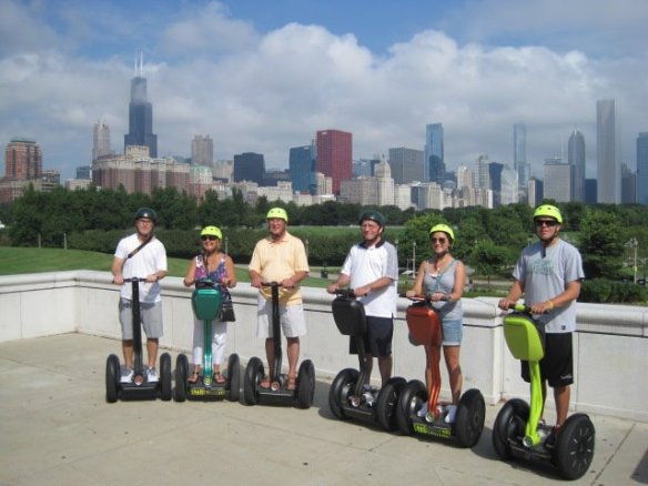 segwaying