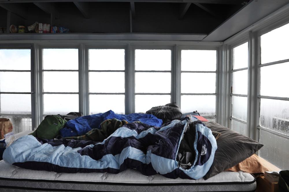 Tower Camping, Mt. Hood, Oregon